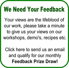 Real food works feedback